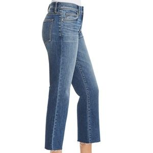 current/elliott the kick jean crop raw hem 29